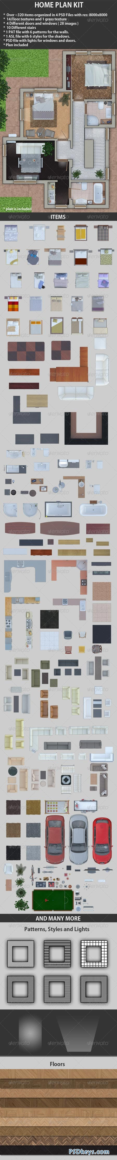 Home Plan Kit 2560480