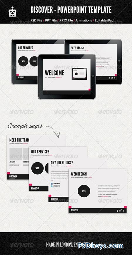 Agency Style PowerPoint Template 2428975