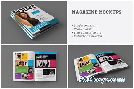 Magazine Mockups 3255