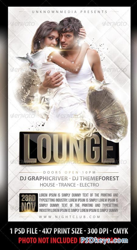 Vip Lounge Party Flyer 2678376