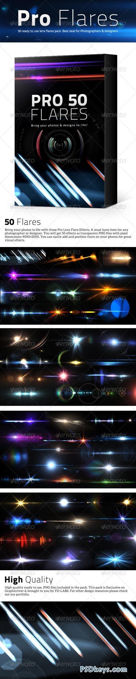 50 Pro Lens Flares Pack V1 5035049