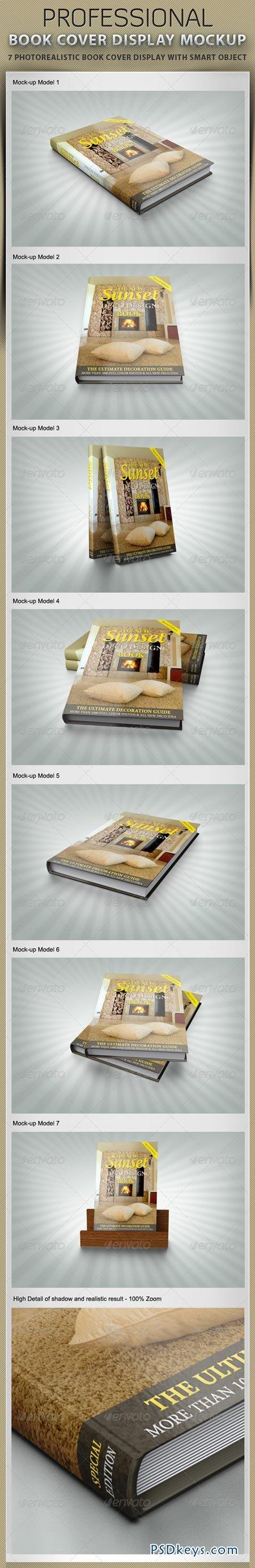 Book Cover Display Mockup 2461057