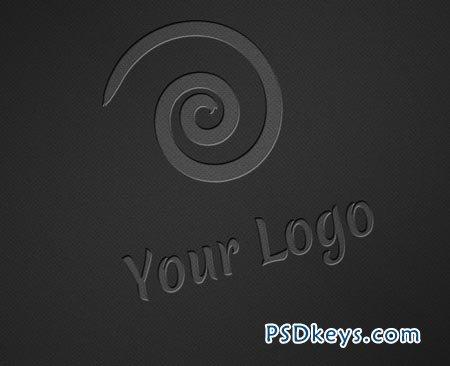 Logo Mock-ups - Dark Style 2754
