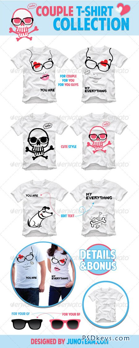 Couple T-Shirt Collection 1082462