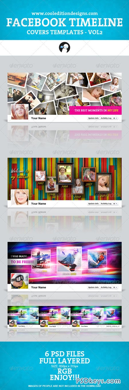 Facebook Timeline Covers Templates VOL2 1396104