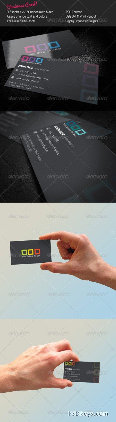 Box Business Card 242284