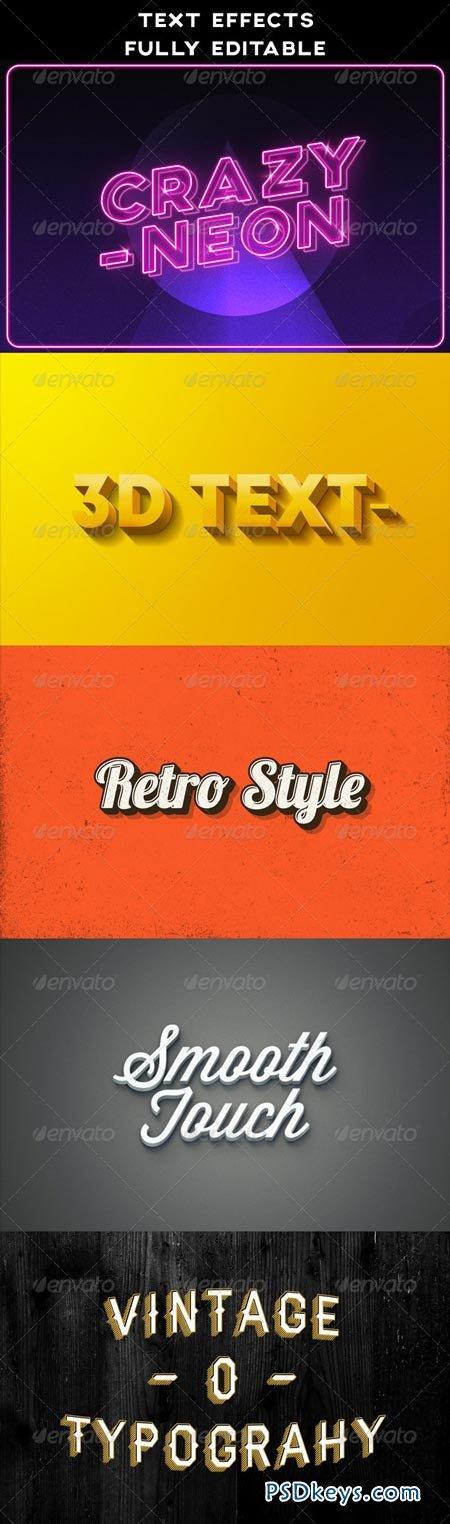 Text Effects Vintage 3D Retro Neon 8485886