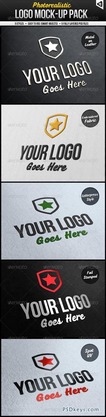 Photorealistic Logo Mock-Up Pack 575399