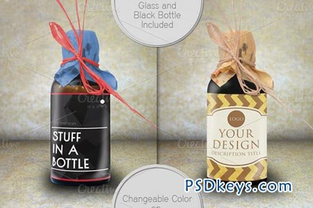 Bottle Mock Up 16357