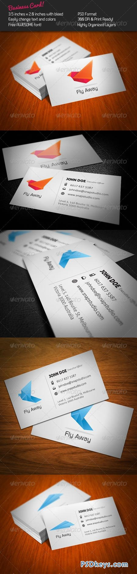 Fly Business Card 241752