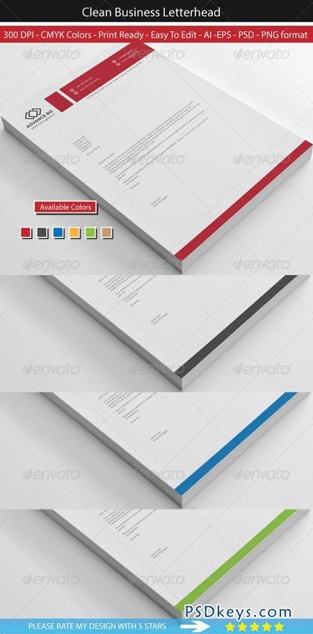 Corporate Advance Letterhead 8569441 Free Download Photoshop – Psd Letterhead Template