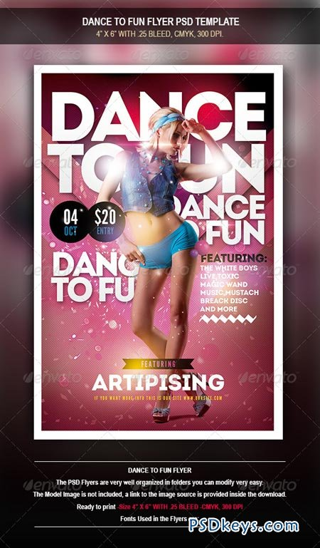 Dance To Fun Flyer 8471782