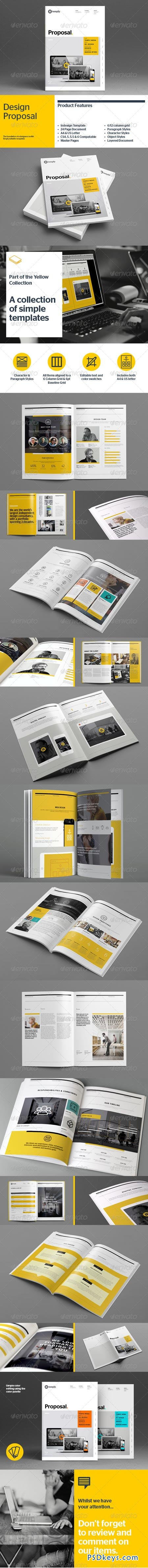 Proposal Template 8536184 Free Download Photoshop Vector Stock
