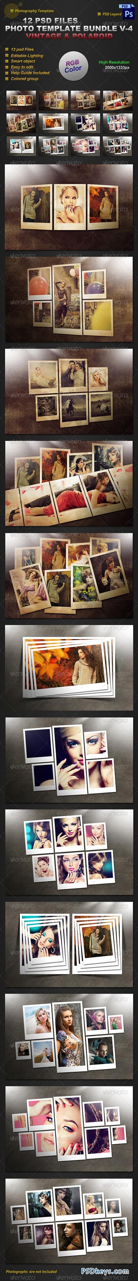 Photo Template Bundle V-4 8252111