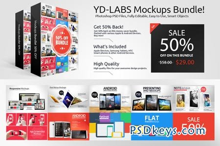 Devices Mockups Bundle Deal 18619