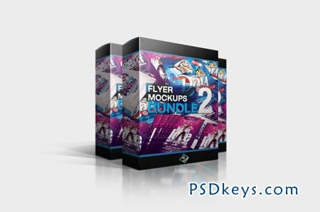 Flyer Mockups Bundle 02 260