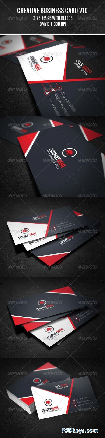 Creative Business Card V10 8659234