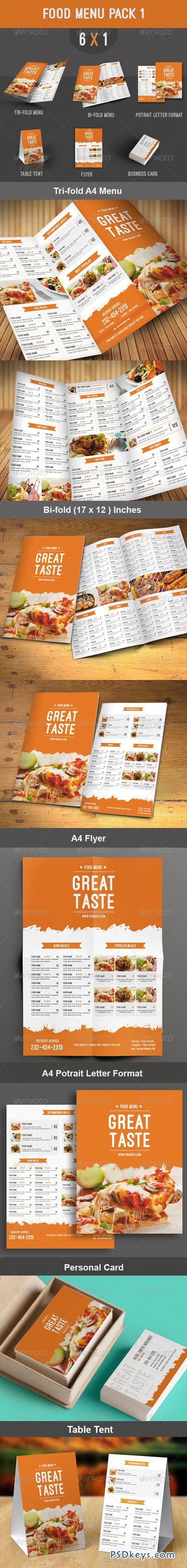 Food Menu Pack 1 8272093