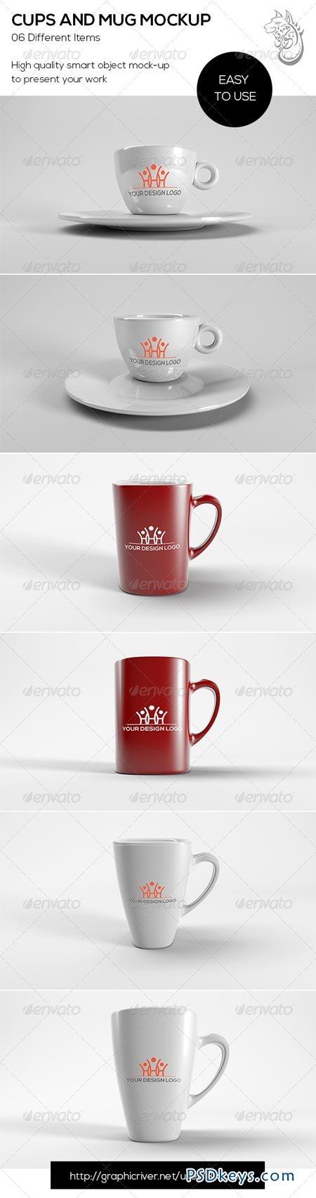 Cups And Mug Mockup 8683470
