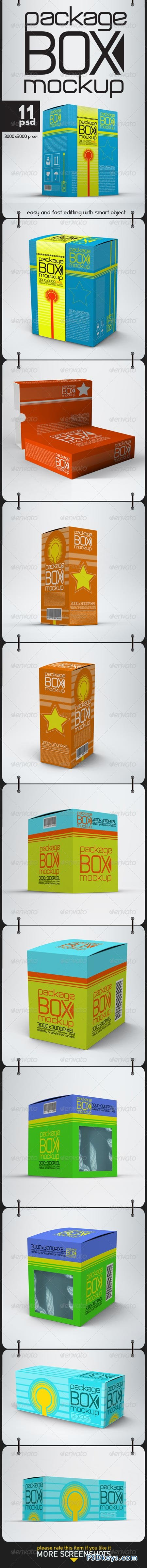 Package Box Mock Ups 8690129