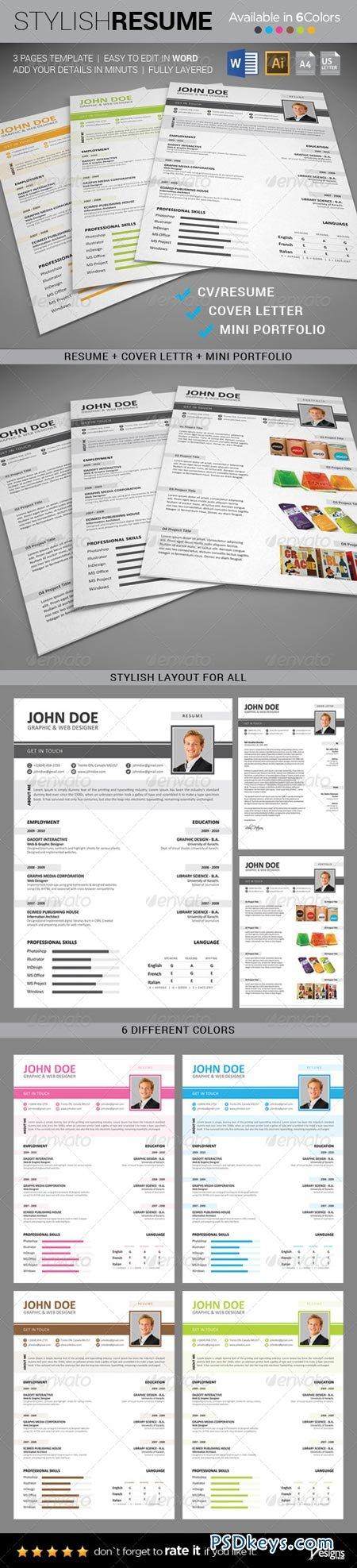 Resume - CV Template 8642647
