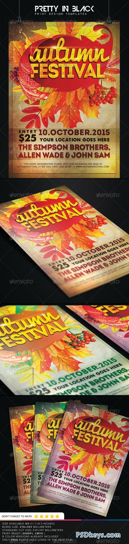 Autumn Festival Flyer 8751721