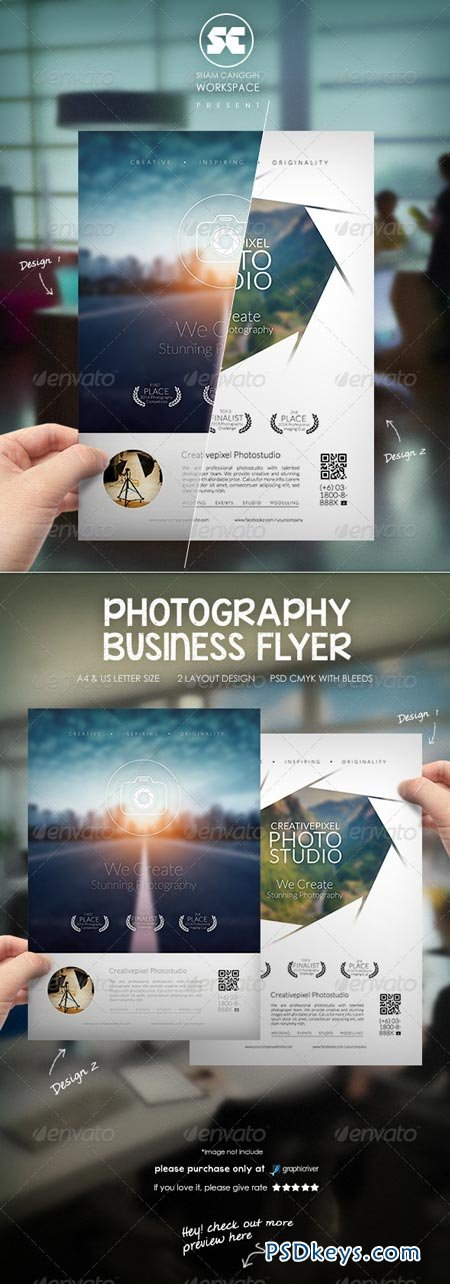 Photography Business Flyer 8748575