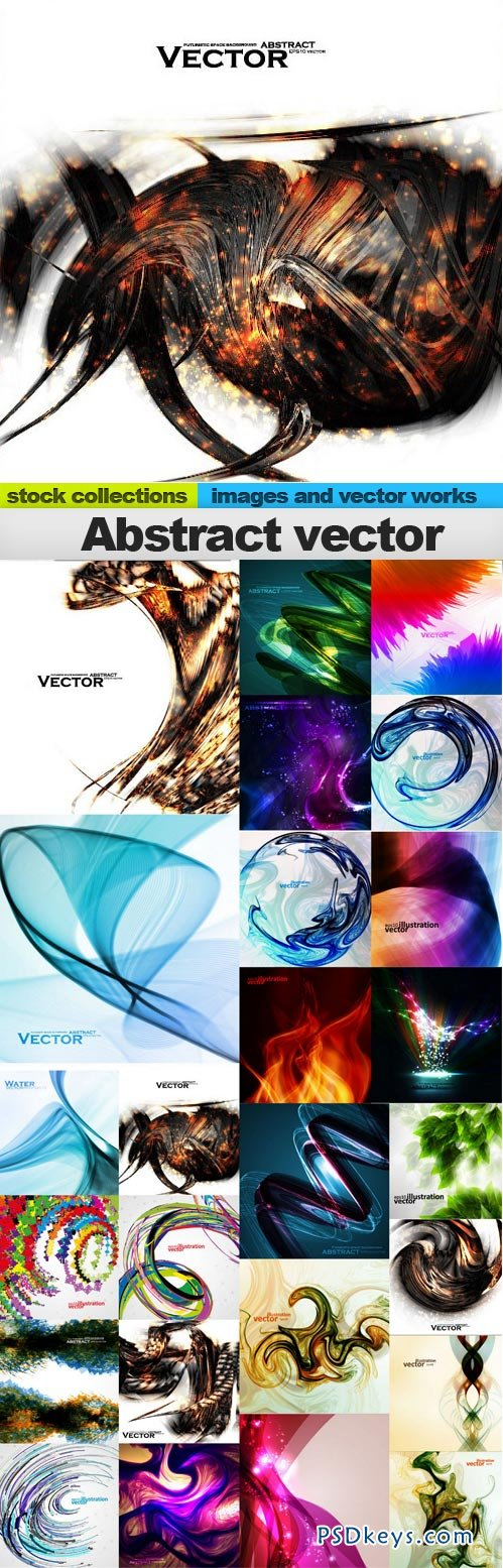 Abstract vector 25xEPS