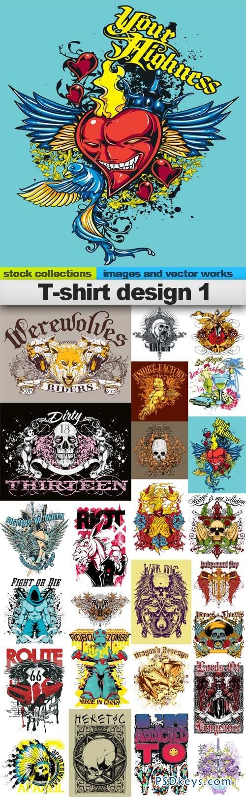 T shirt design 7 25xeps - T Shirt Design 1 25xeps