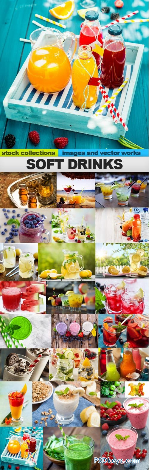Soft drinks 25xUHQ JPEG
