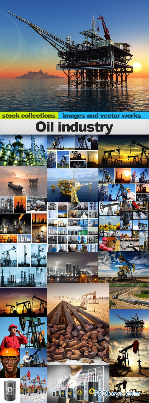 Oil industry 25xUHQ JPEG