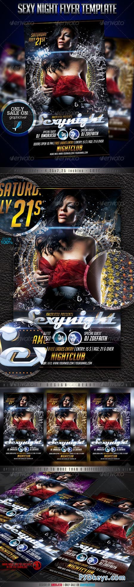 Sexy Night Flyer Template 2675869