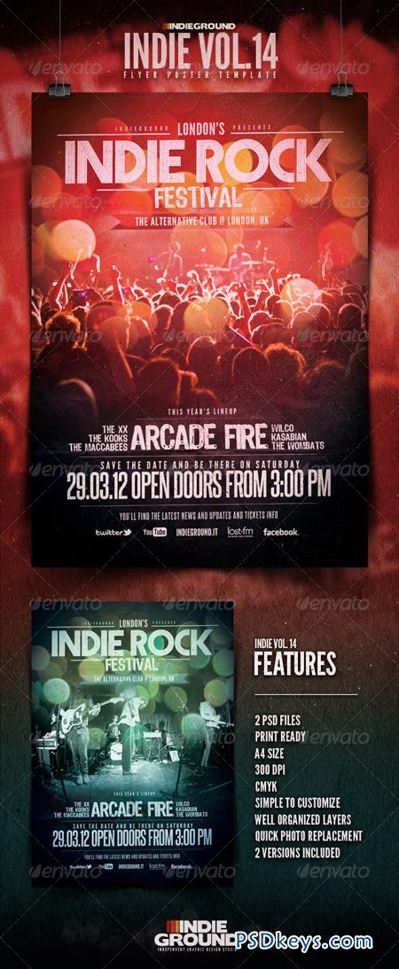 Indie Flyer Poster Vol. 14 1627921