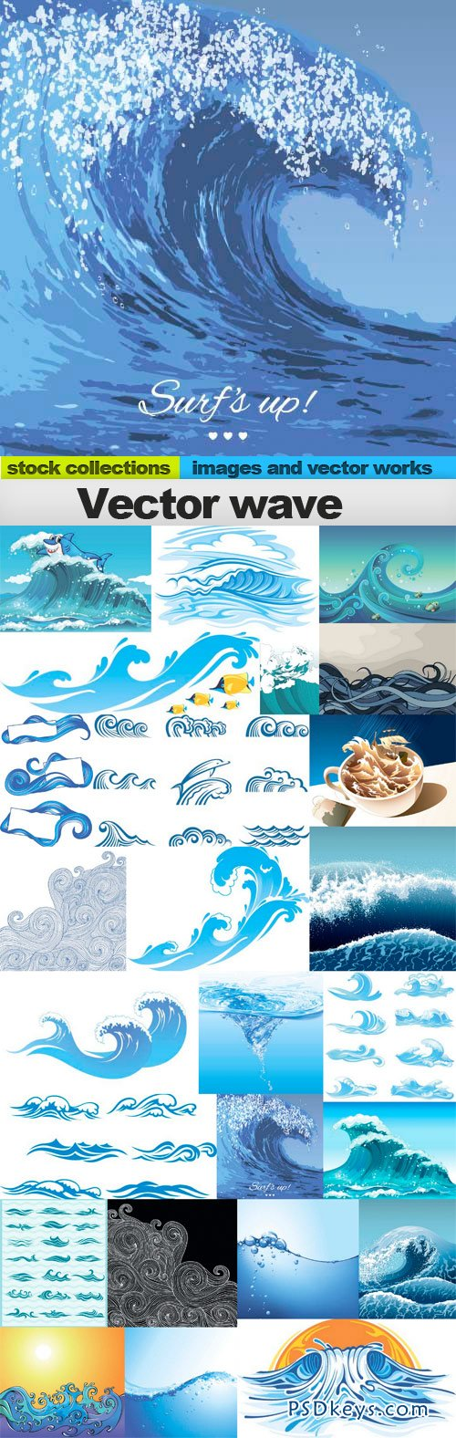 Vector wave 25xEPS
