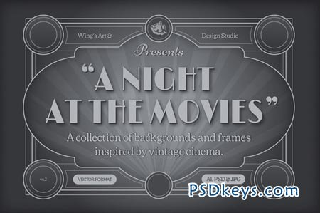 Vintage Movie Backgrounds And Frames 41144
