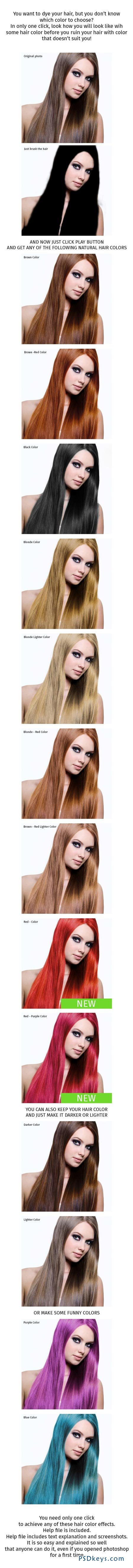 Hair Color Effect 8872948