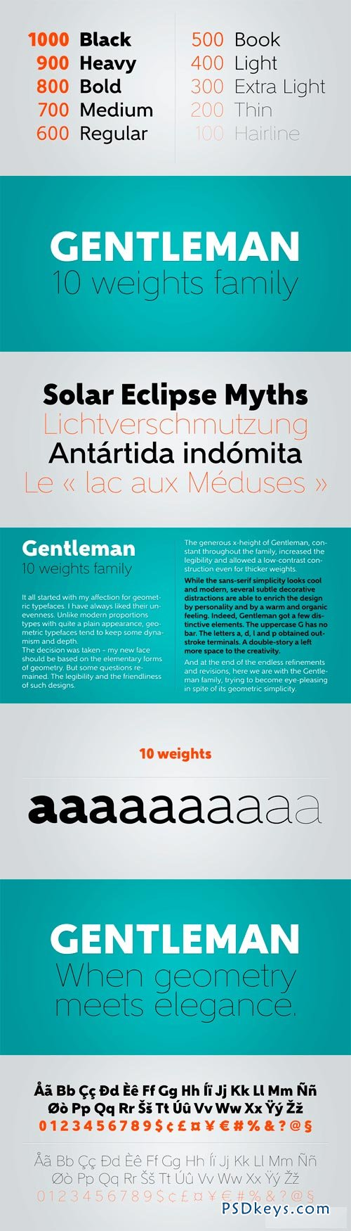 Gentleman Font Family - 10 Fonts for $179