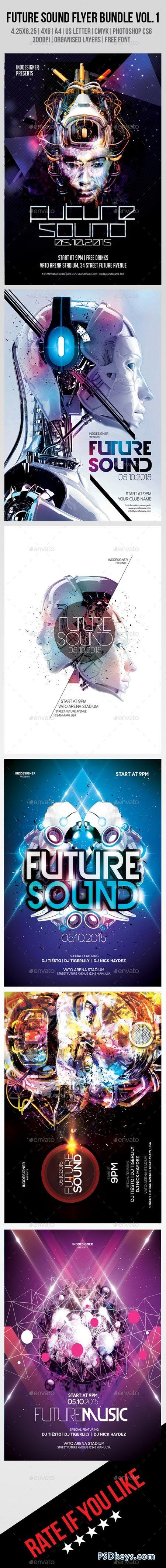Future Sound Flyer Bundle Vol.1 8889128