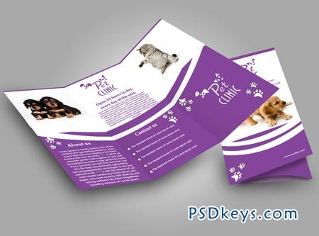 Pet Clinic Brochure 53687