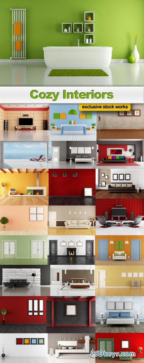 Cozy Interiors collection #10 - 25xUHQ JPEGs