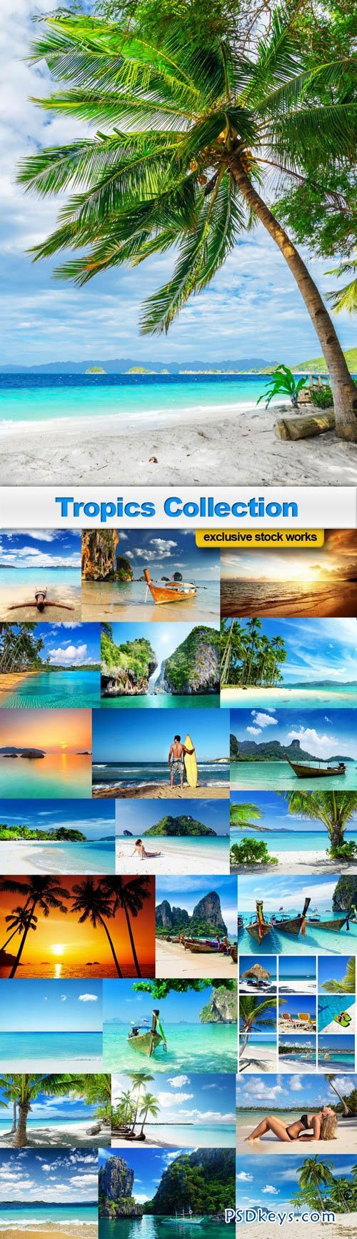 Tropics Collection - 25 UHQxJPEG
