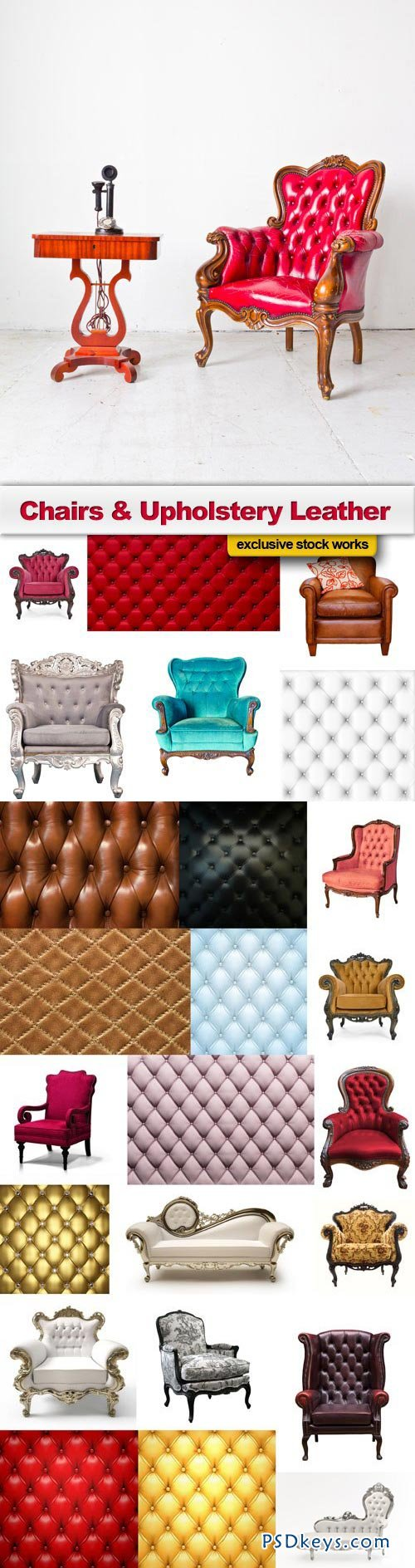 Chairs & Upholstery Leather - 25xJPEG