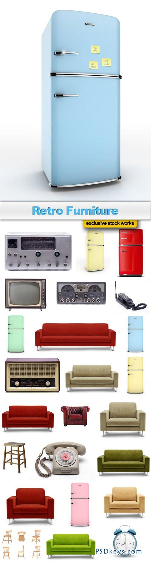 Retro Furniture - 25xJPEG