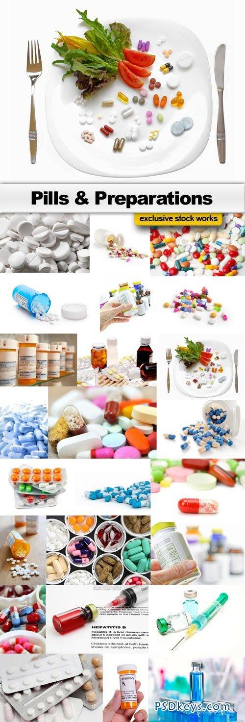 Pills & Preparations - 24xJPEG