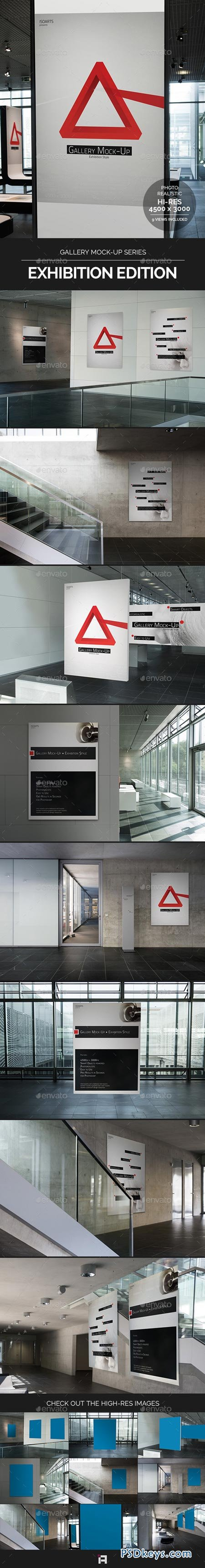 Gallery Mock-Up Series • Exhibition Edition 9067807