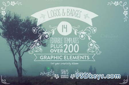 Floral Logo Templates & Elements 69297