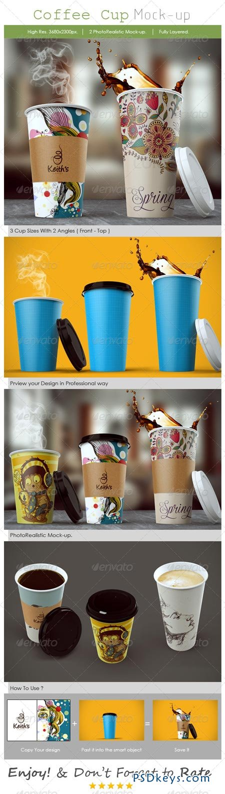 Coffee Cup Mockup 8576094