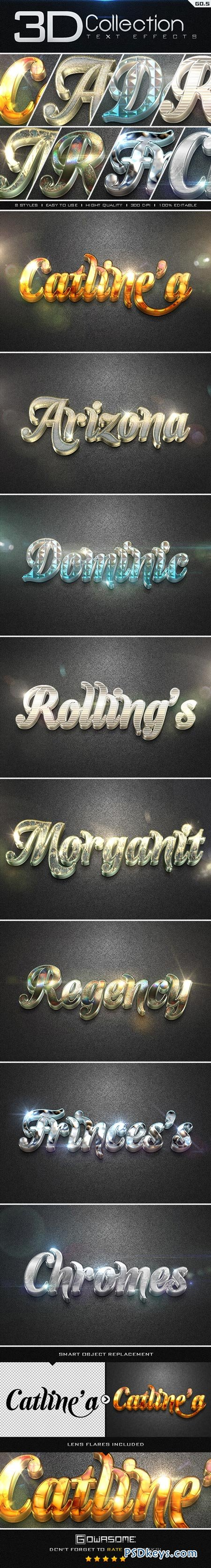3D Collection Text Effects GO.5 8927121