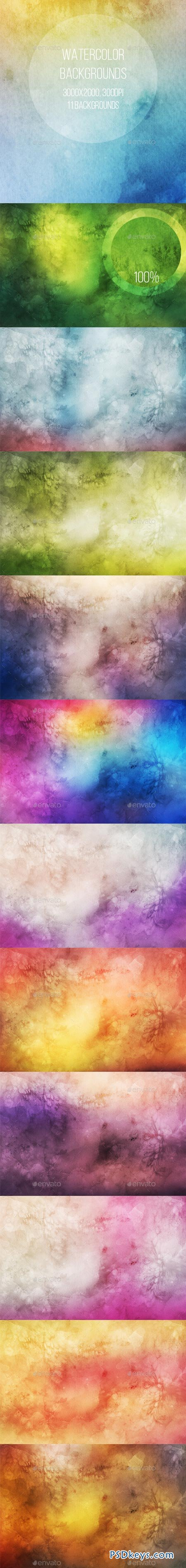 Watercolor Backgrounds 8953286