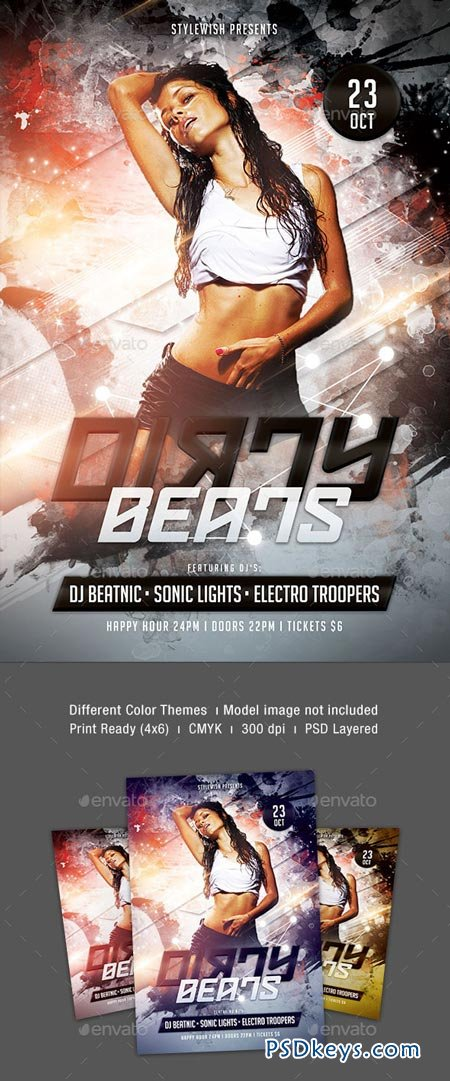 Dirty Beats Flyer 9068021